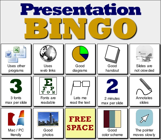Bingo Powerpoint Template