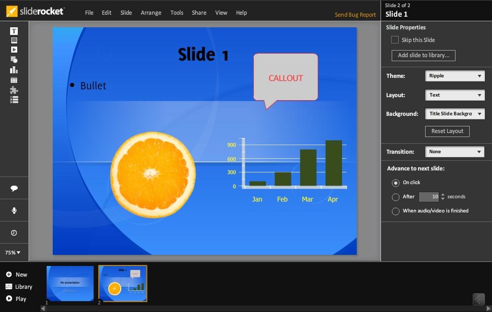 Side-by-side: SlideRocket and 280 Slides | NspireD2: Learning ...