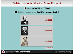 Van Buren poll image