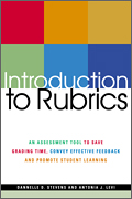 Introduction to Rubrics - book cover