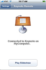Keynote Remote screenshot