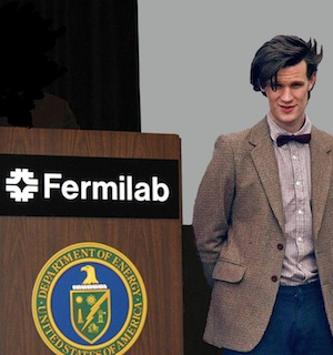 Dr. Who takes over at Fermilab