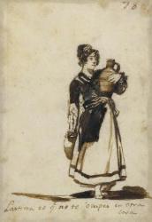Goya drawing