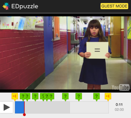 EdPuzzle test - screen capture