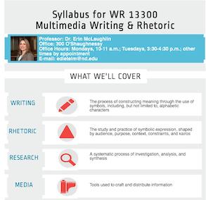 Erin D syllabus infographic