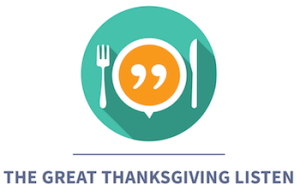 logo for the Great Thanksgiving Listen