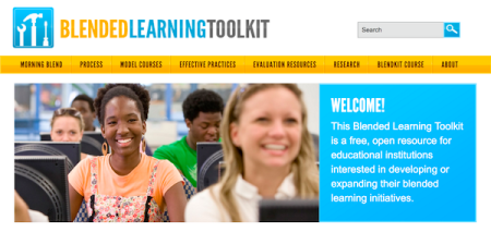 blended learning toolkit screen